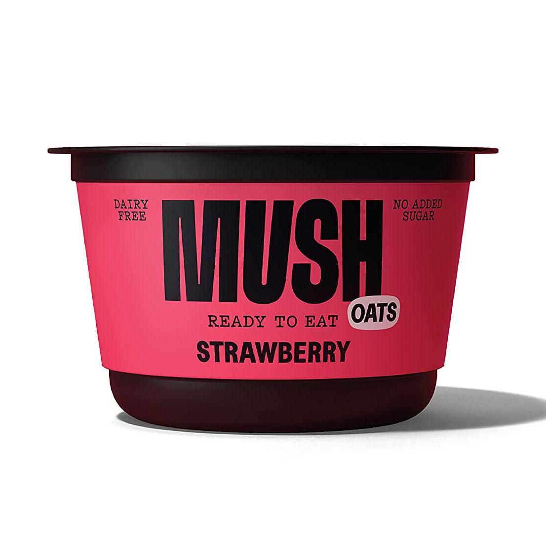 MUSH Strawberry Overnight Oats