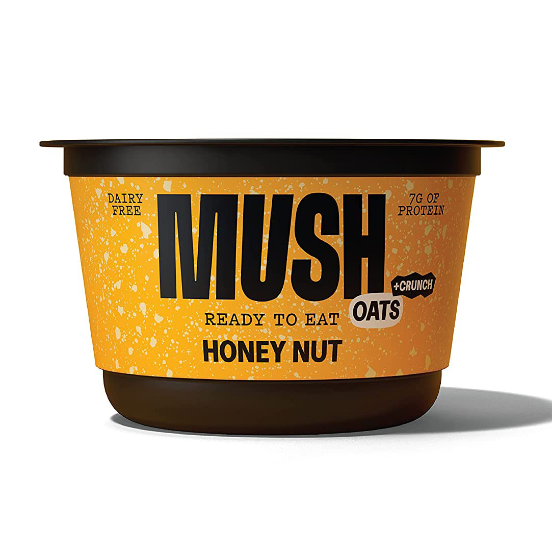 MUSH Honey Nut Crunch Overnight Oats