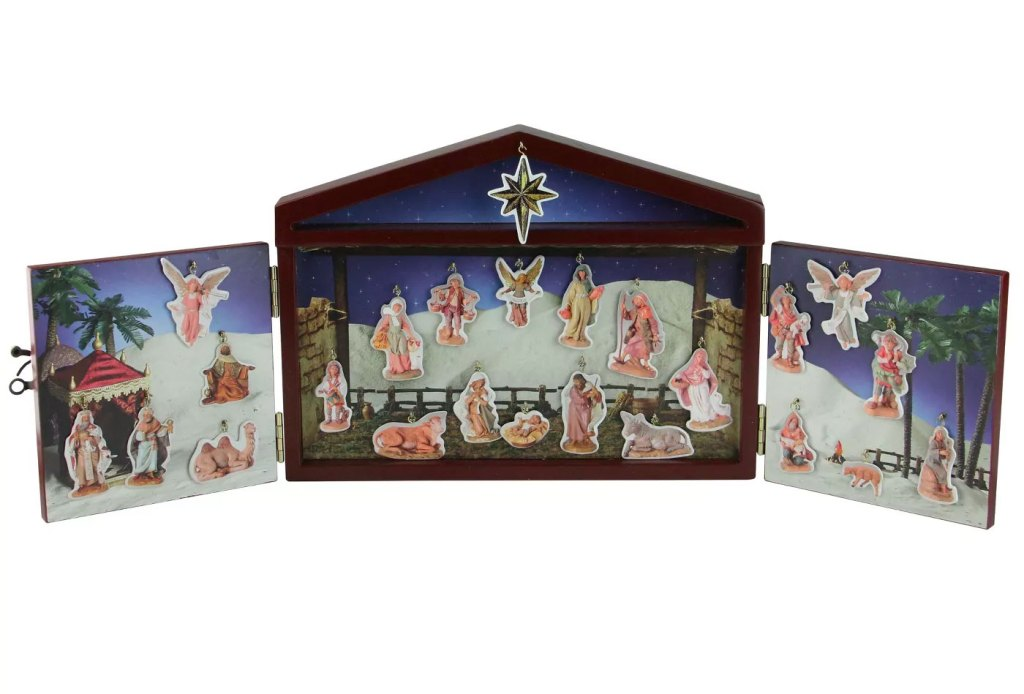 Roman 25-Piece Nativity Advent Calendar