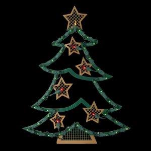 northlight seasonal lighted christmas tree