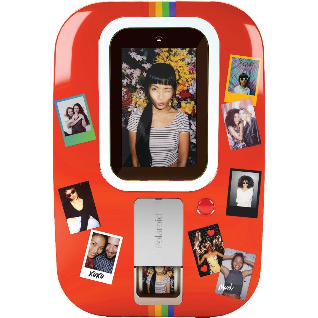polaroid instant photo booth