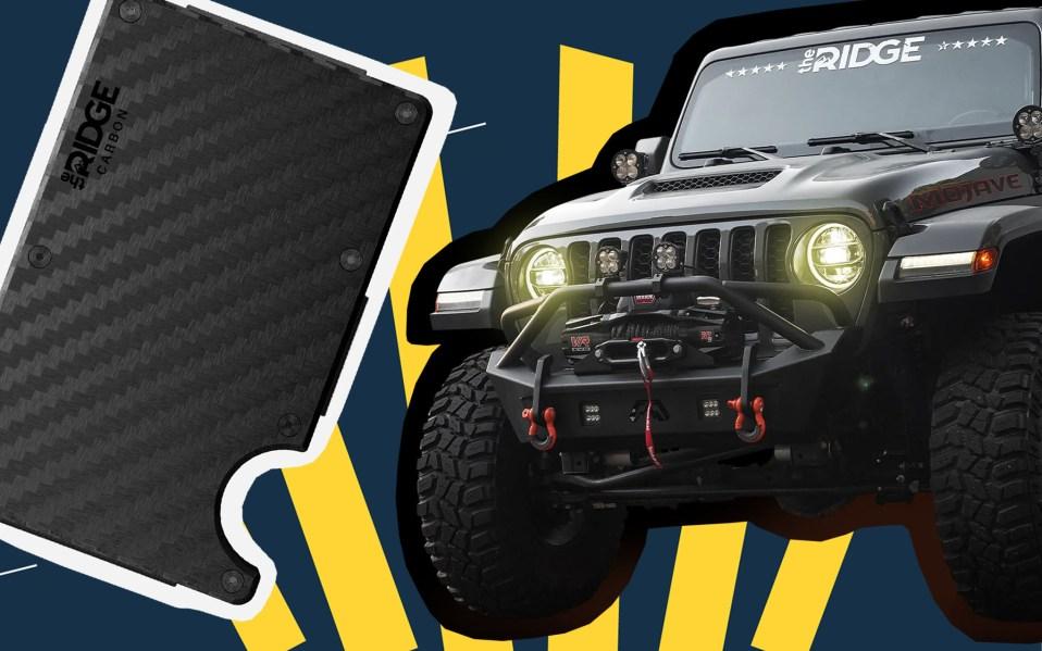 The Ridge Wallet & Jeep