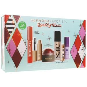 sephora sparkly clean makeup set, gifts for her