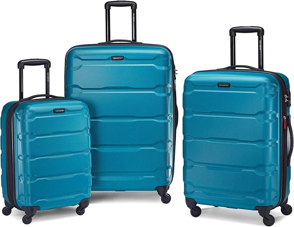 samsonite omni suitcase set