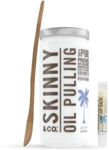 skinny & co pulling oil