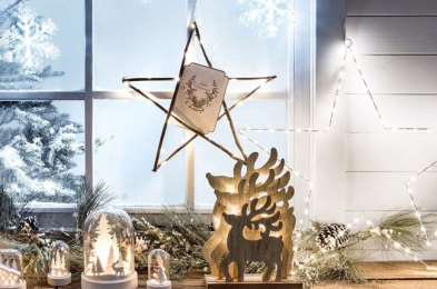 brighten your home from the inside and outside with these christmas window lights