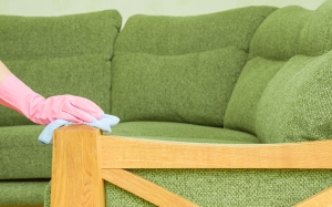 wooden couch wipe, how to clean a couch