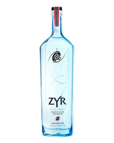 Zyr Vodka, Best Russian Vodka