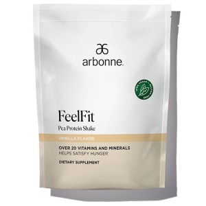 Arbonne FeelFit Pea Protein Shake Vanilla Flavor