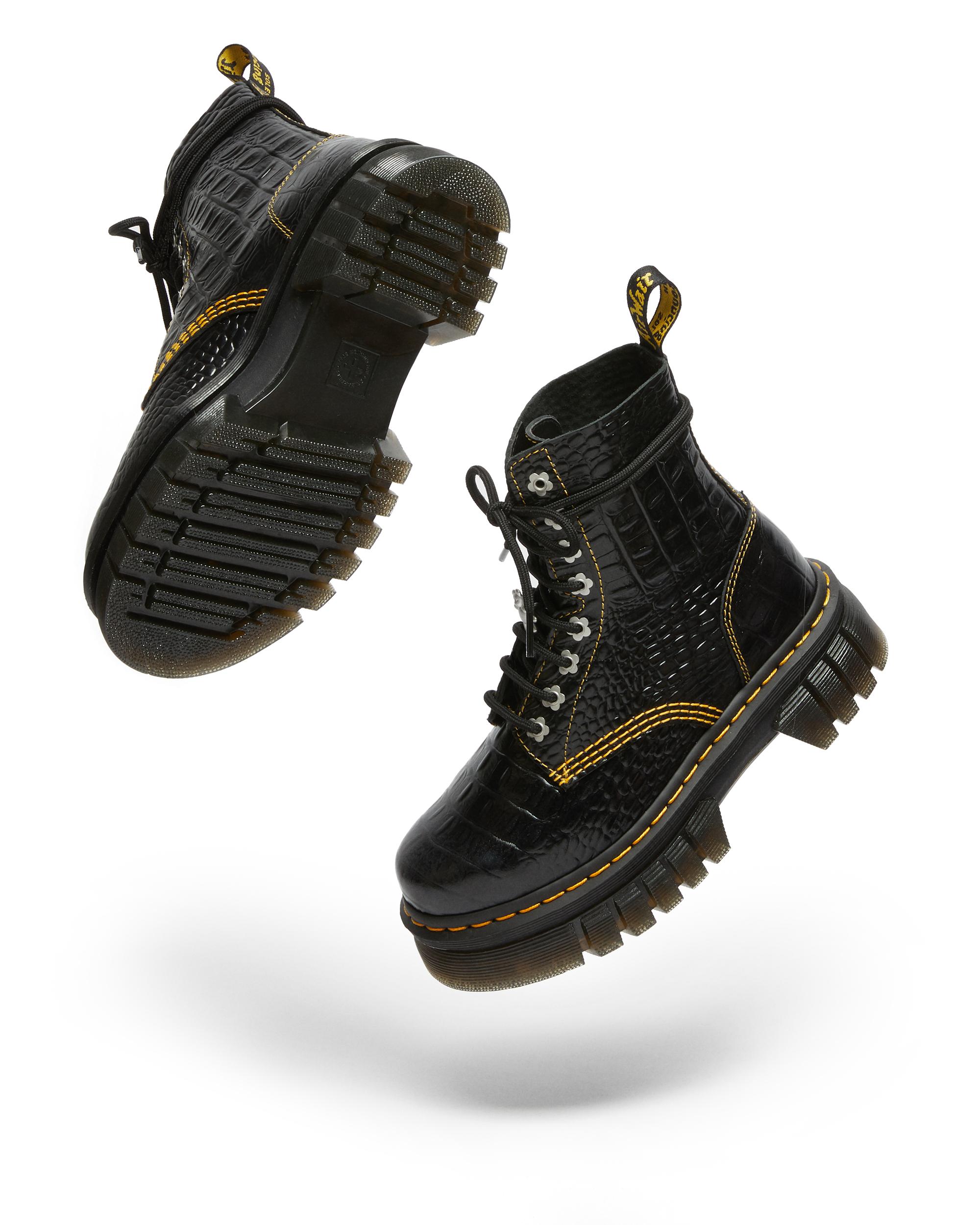 Dr. Martens x Heaven by Marc Jacobs' Audrick 8i HMJ Croc boot