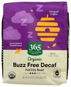 best organic coffee 365 by wfm decaf