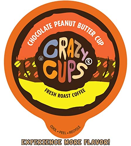 Crazy Cups Chocolate Peanut Butter K-Cup