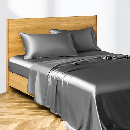 Candoury Satin Bed Sheets Set