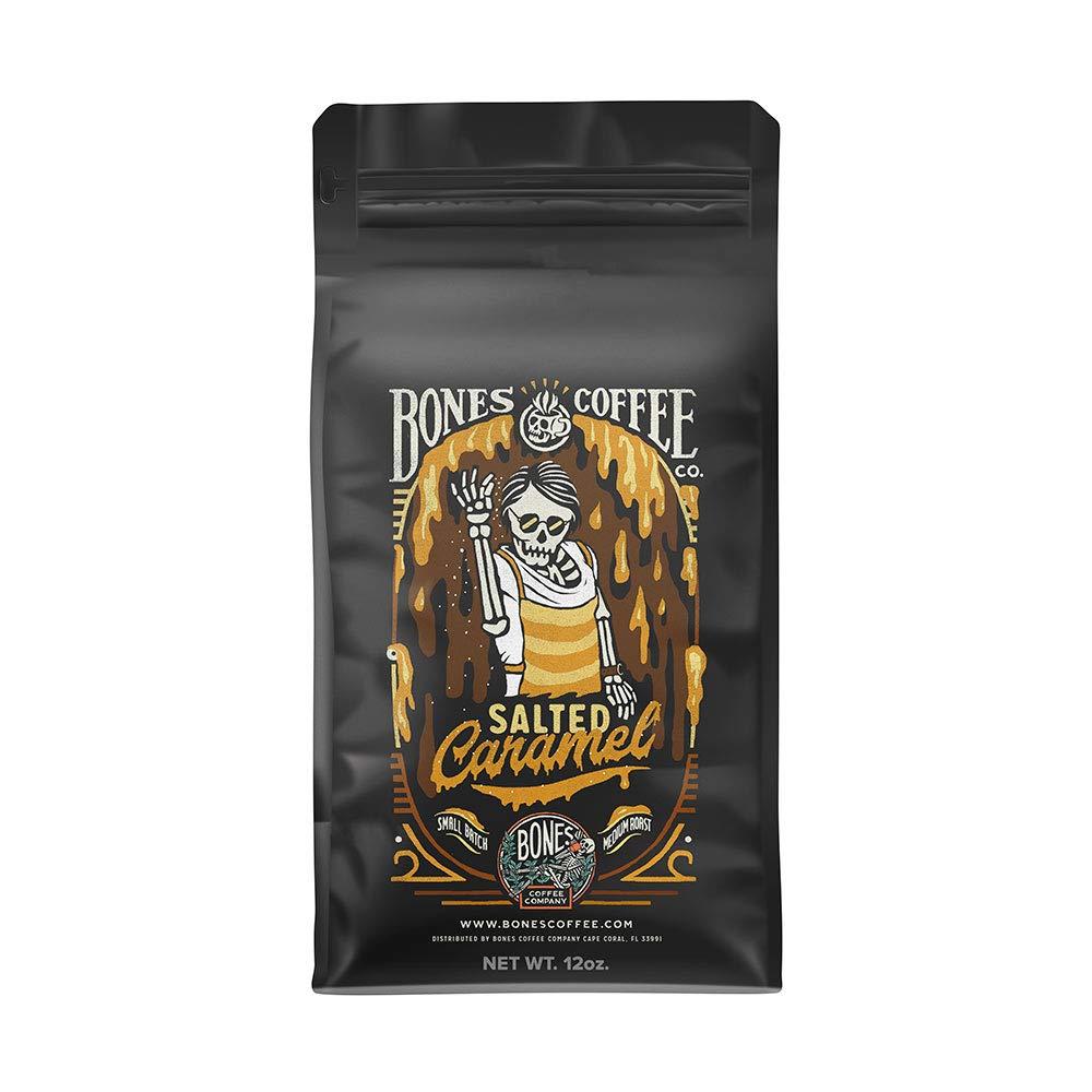 Bones Coffee Company Salted Caramel Coffee Beans