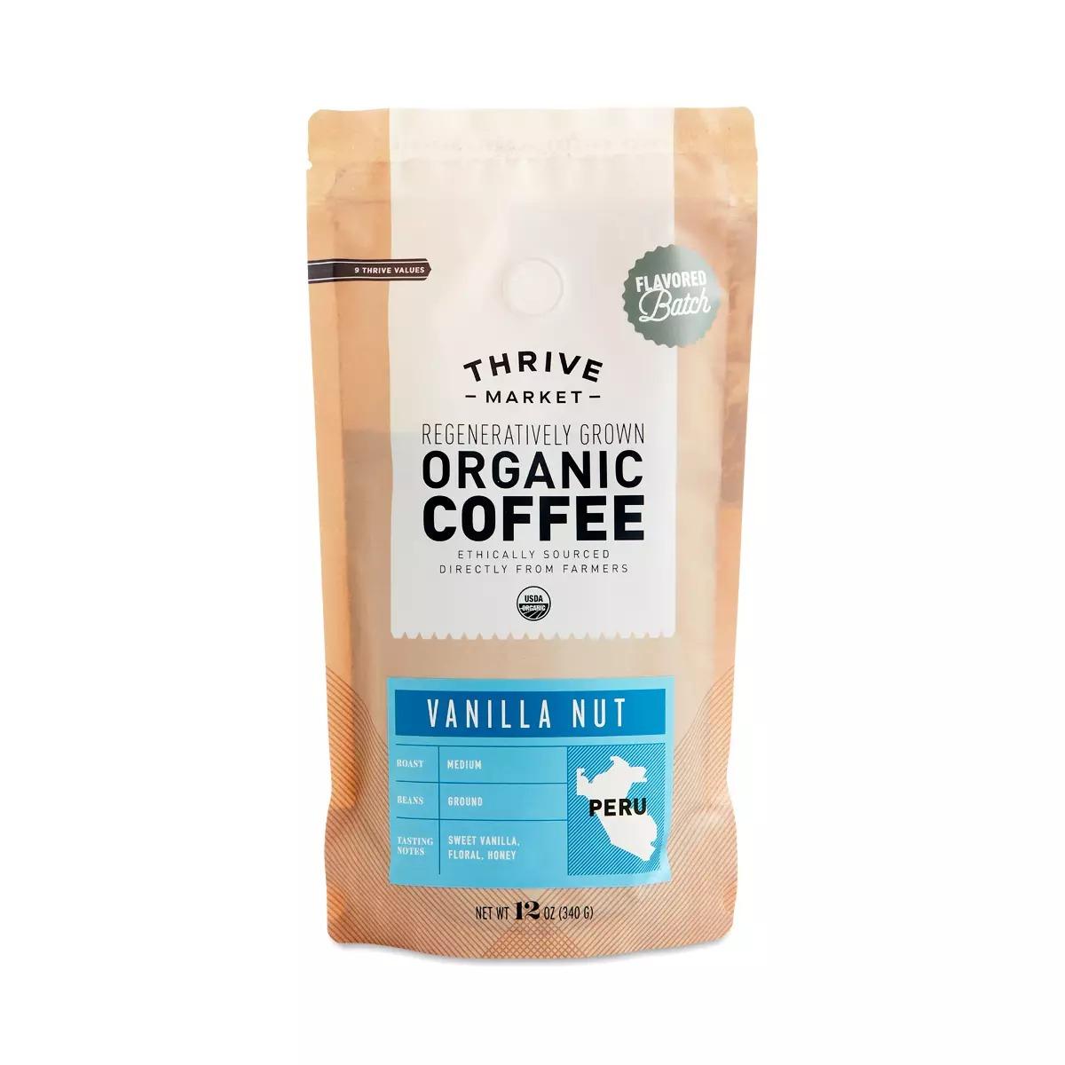 Thrive Market Organic Vanilla Nut Coffee