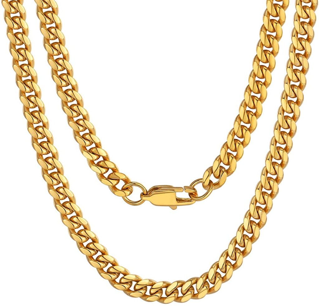 ChainsPro Men Chunky Miami Cuban Chain Necklace