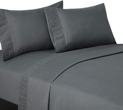 Bedsure Microfiber Bed Sheet Set