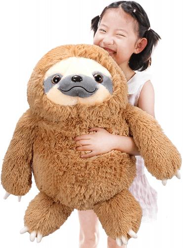 giant stuffed sloth