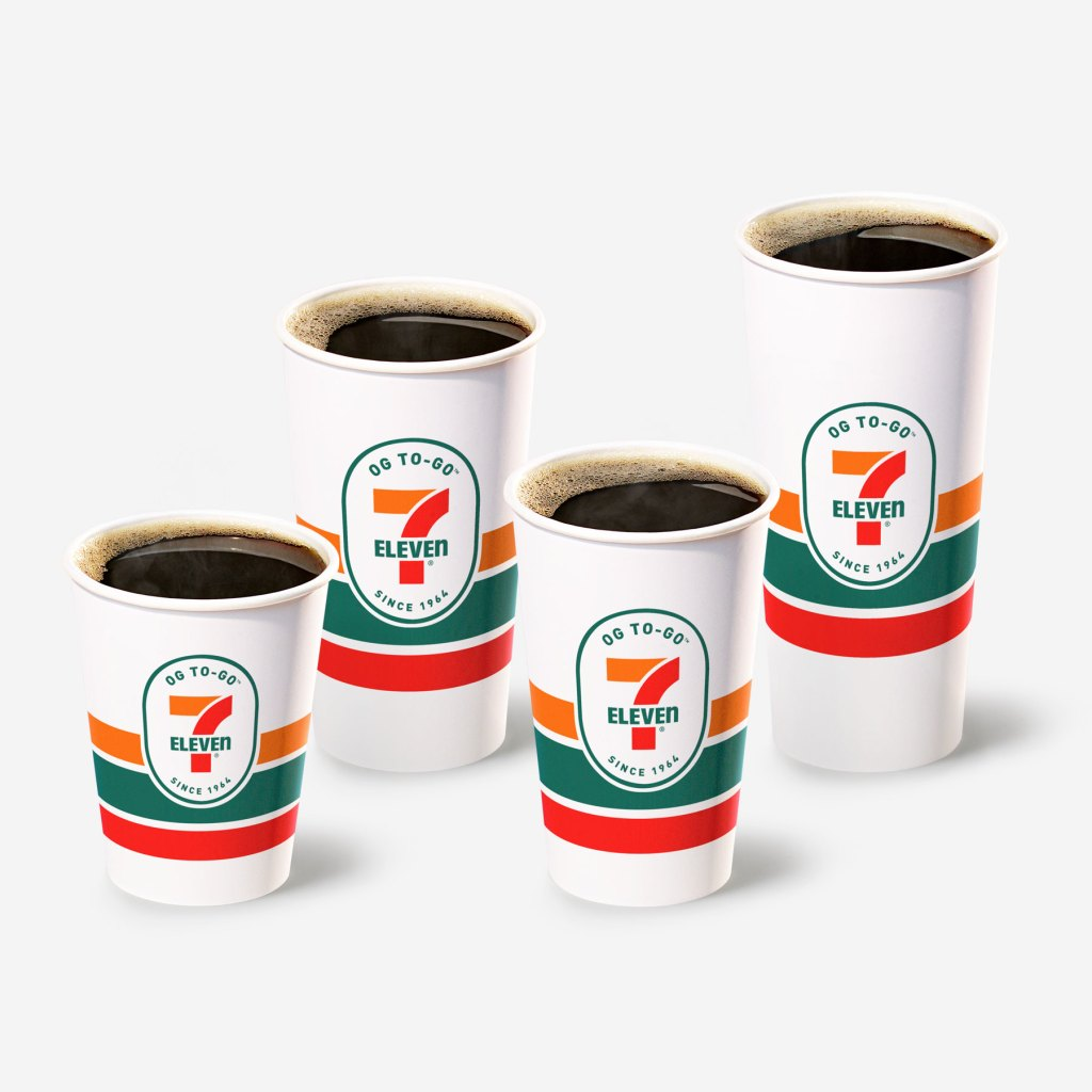 7eleven coffee cups coffee deals