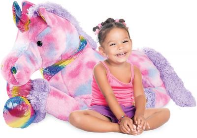extra large plush unicorn