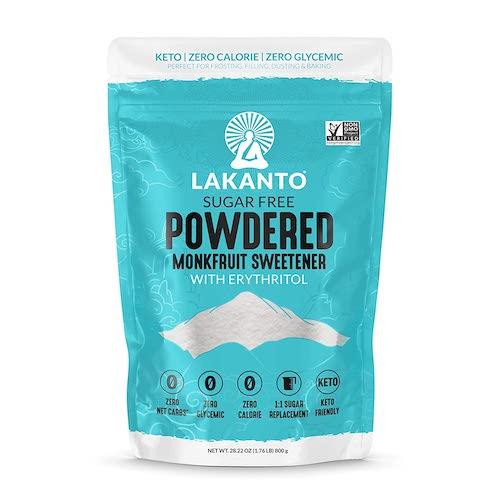 Lakanto Powdered Monk Fruit Sweetener