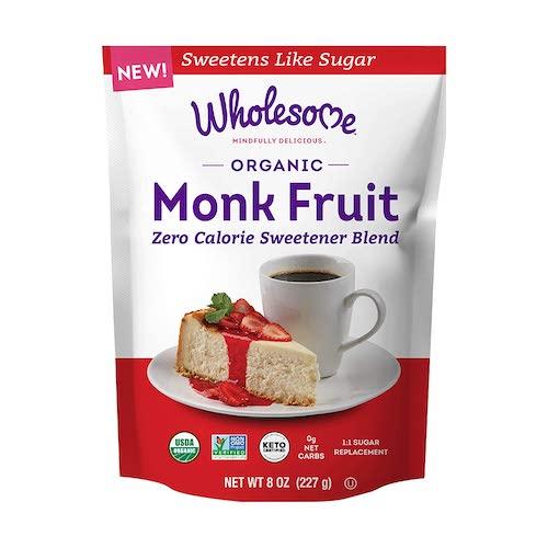 Wholesome Sweeteners Organic Monk Fruit Sweetener