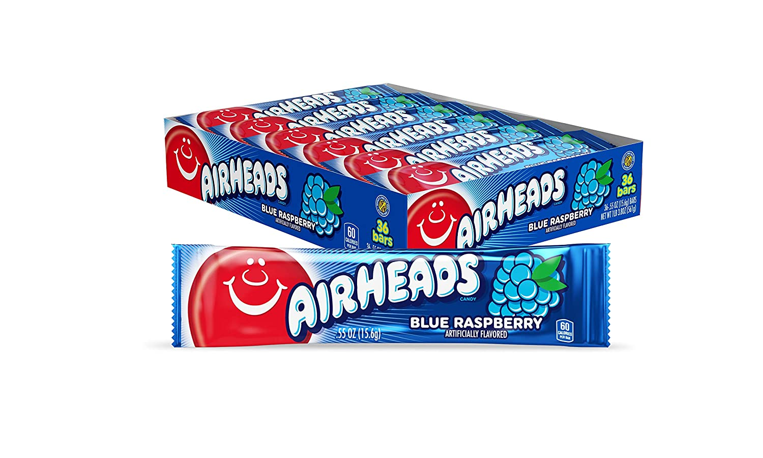 Package of airheads candy