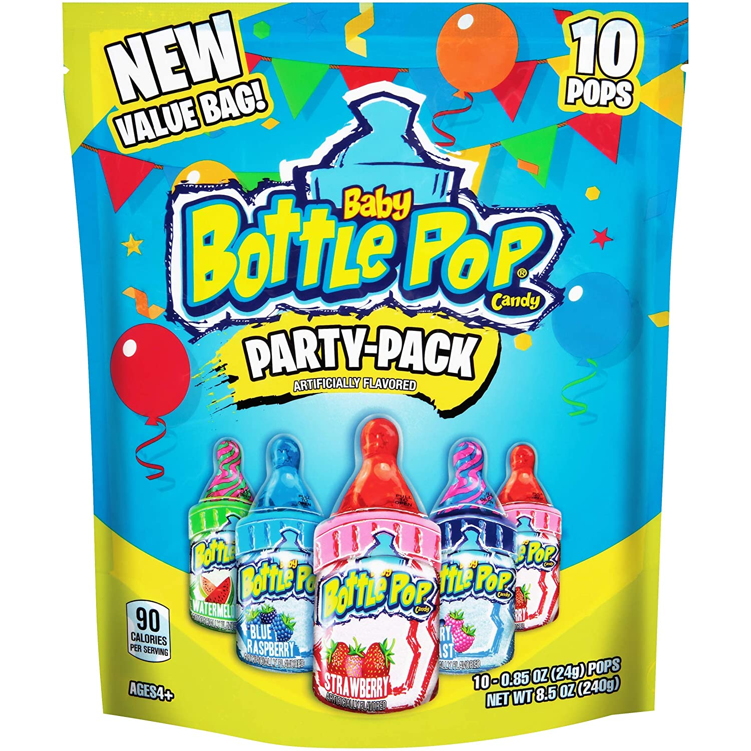 Package of Bottle Pop candy
