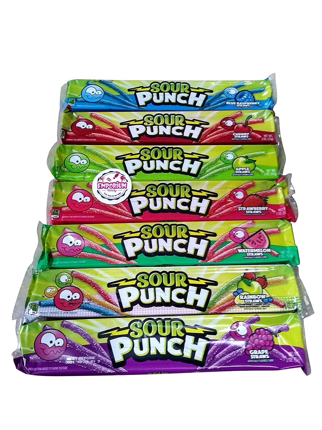 Package of Sour Punch Straws