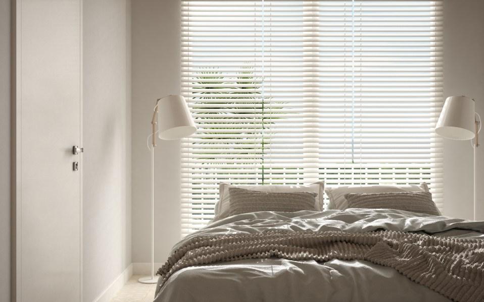 Modern interior design, Alexa Smart Blinds