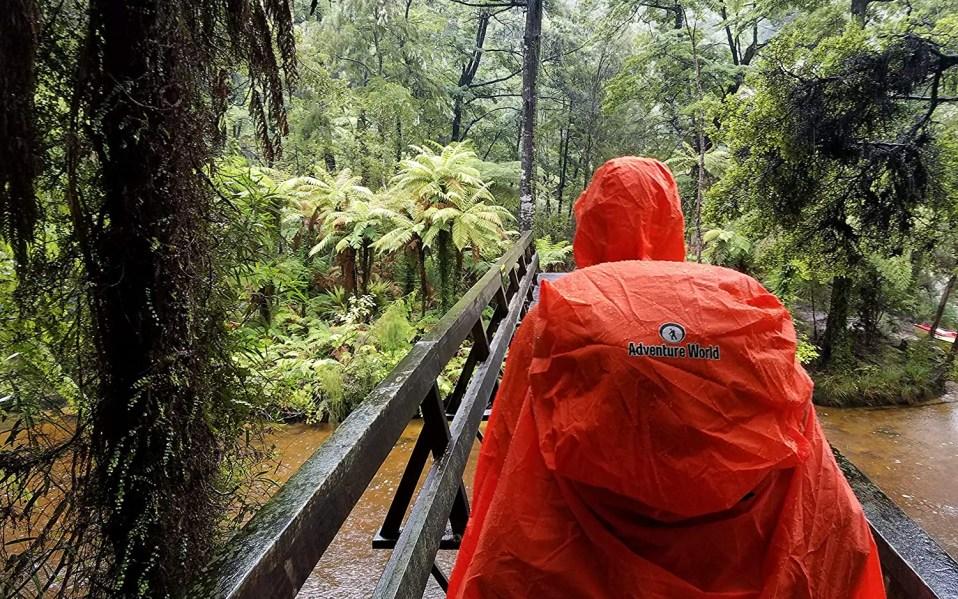 Person wears Adventure World Globotrekker backpack