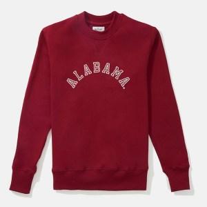 Alabama crewneck sweatshirt, HillFlint college apparel