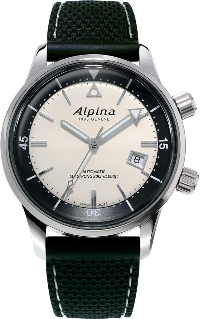 Alpina-Seastrong-Stainless-Steel-Automatic-self-Wind-Watch-with-Rubber-Strap
