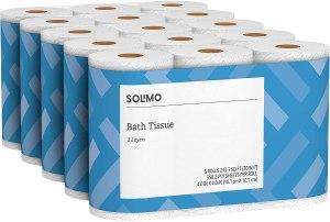 Toilet paper amazon brand solimo