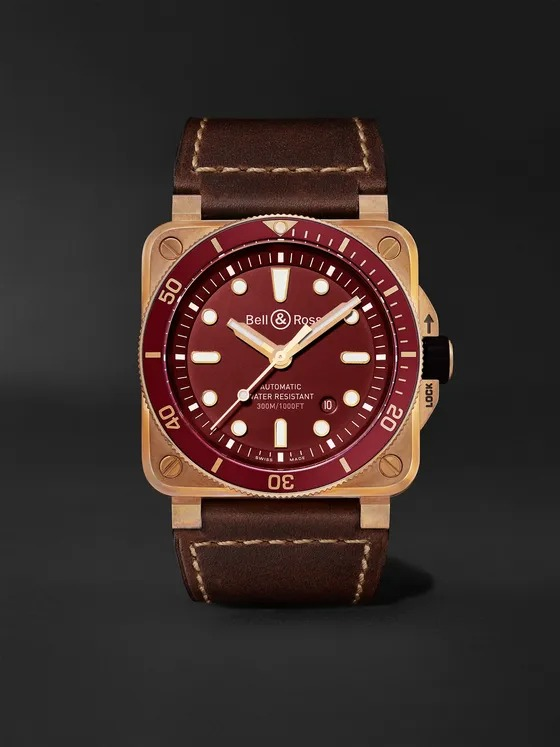 BR-03-92-Diver-Red-Limited-Edition-Automatic-42mm-Bronze-and-Leather-Watch