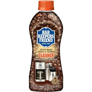 bar keepers coffee maker cleaner, descalers for coffee pots