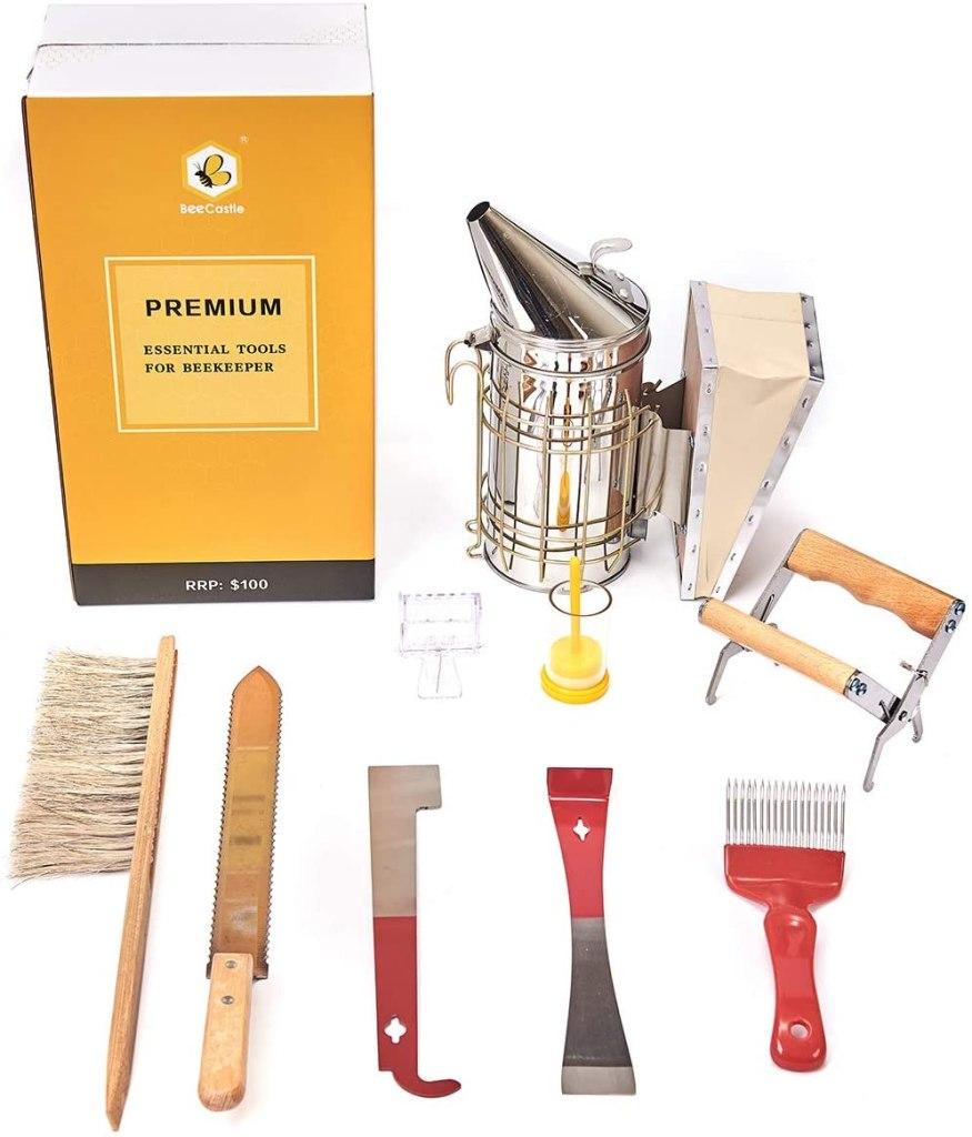 BeeCastle Beekeeping Tool Set