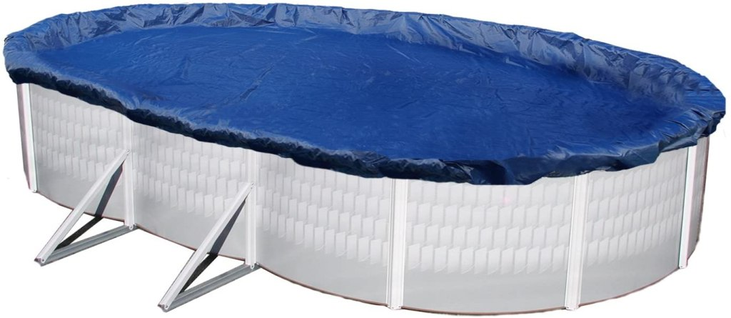 best pool covers - Blue Wave Oval Above Ground Pool Cover