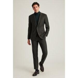 Bonobos flannel suit, wedding attire for men