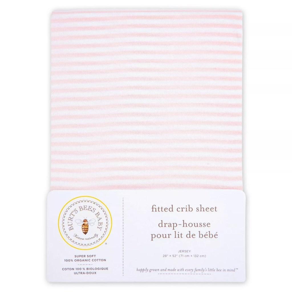 Burt's Bees Baby® Organic Fitted Crib Sheet