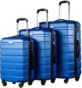best luggage on amazon - Coolife Luggage Set