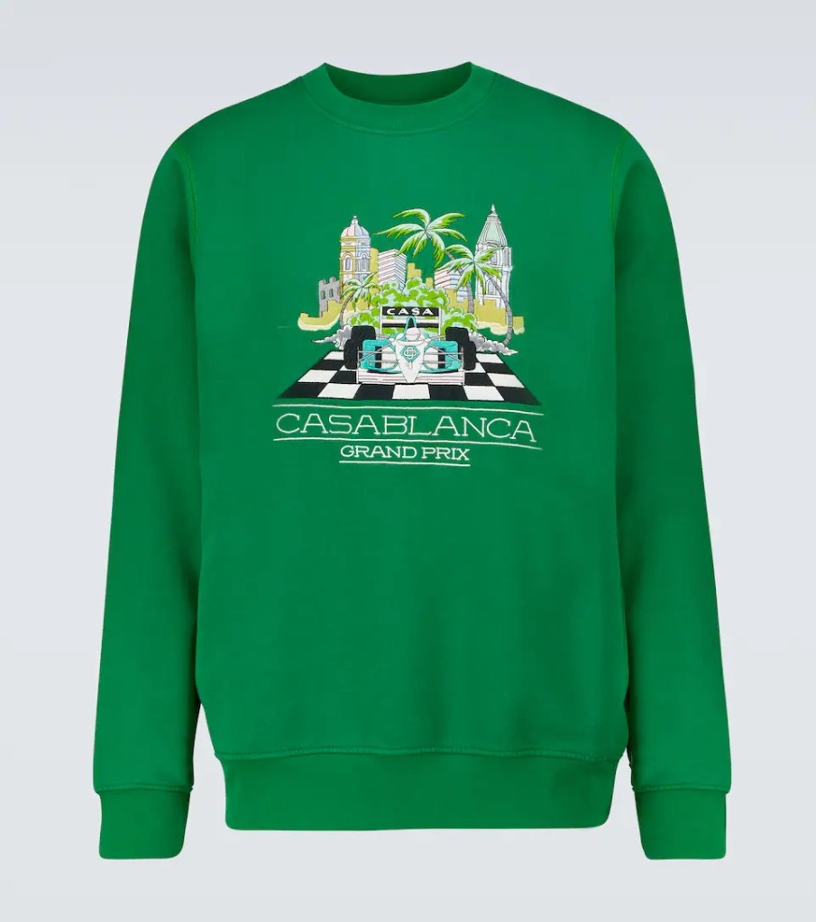 Casablanca-Printed-Cotton-Sweatshirt