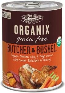 best organic dog food castor pollux
