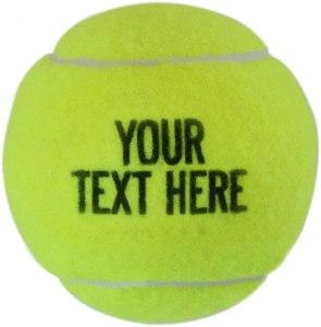 best tennis balls chalktalksports personalized