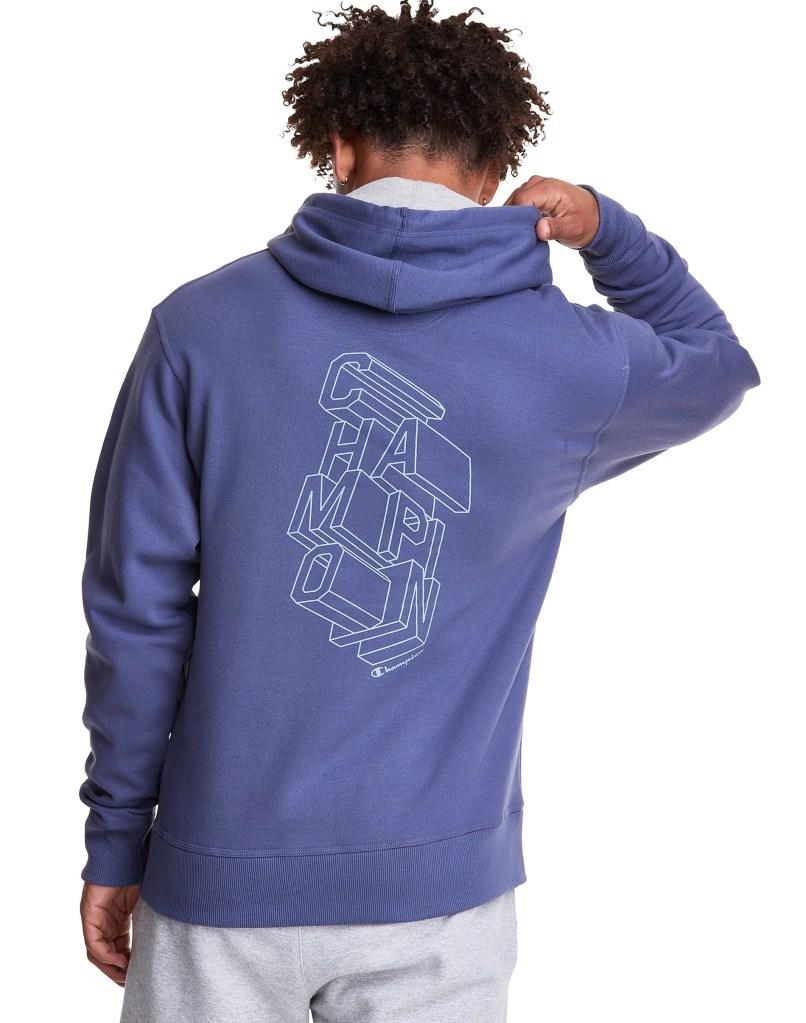 Champion-Power-Blend-Fleece-Hoodie-Block-Logo