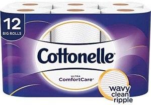 Toilet paper cottonelle ultra comfortcare