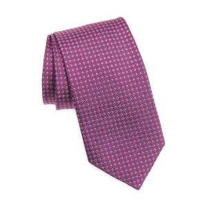 David donahue microdot silk tie, wedding attire for men