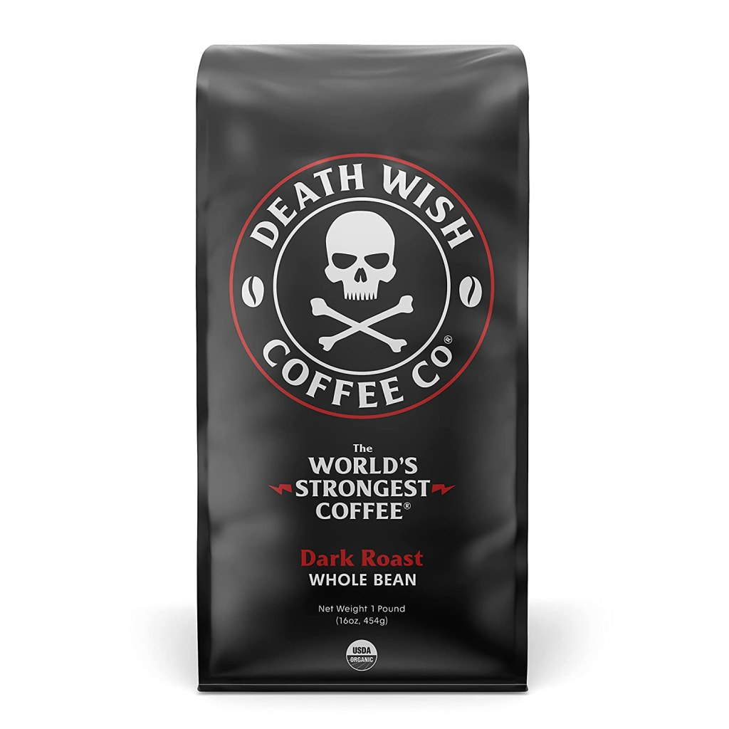 Death Wish Coffee Co. Whole Bean Coffee BEST STRONG COFFEE