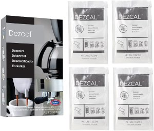 Urnex dezcal coffee maker cleaner, descalers for coffee pots