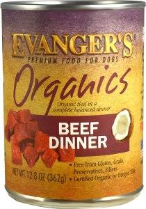 evangers organics dinner for dogs